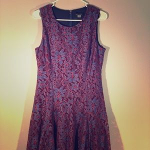 Tommy Hilfiger Red Floral Sleeveless Size 10 Dress